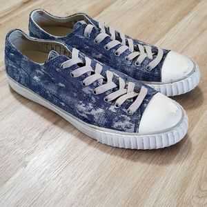 John varvatos Men Sneakers Bootleg Blue